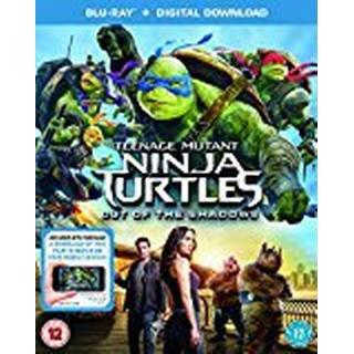 Teenage Mutant Ninja Turtles: Out Of The Shadows (Blu-ray + Digital Download) [2016] [Region Free]